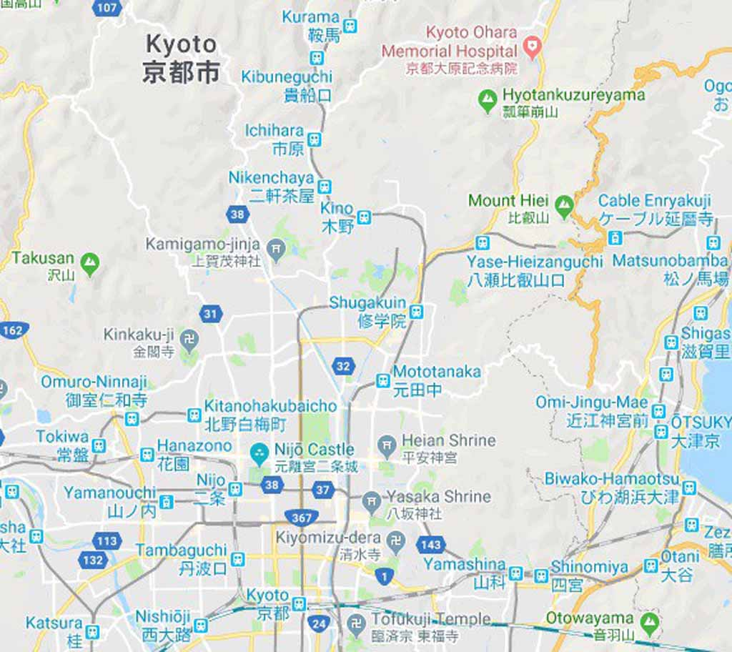 Kyoto-map