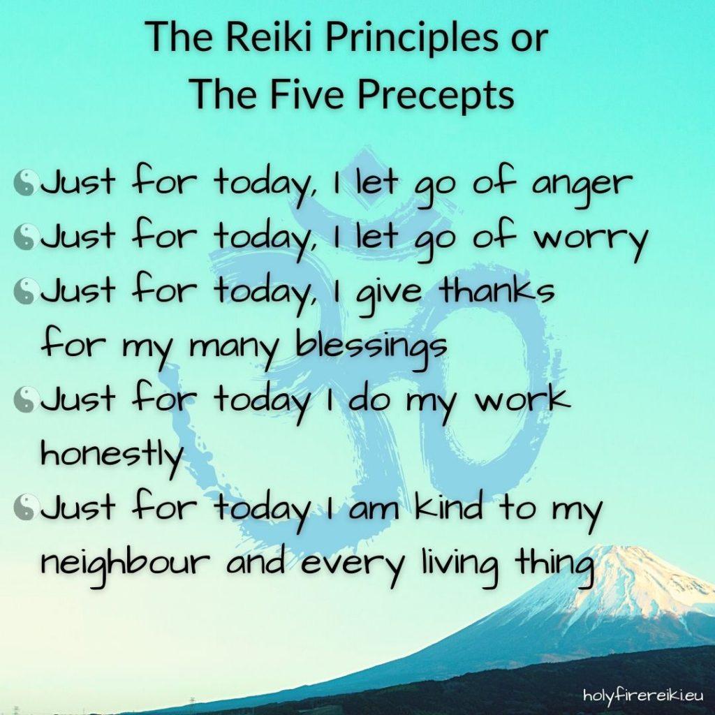 The Reiki Principles